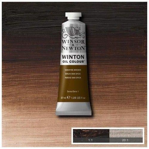 Oleo Winsor & Newton pardo Van Dyke