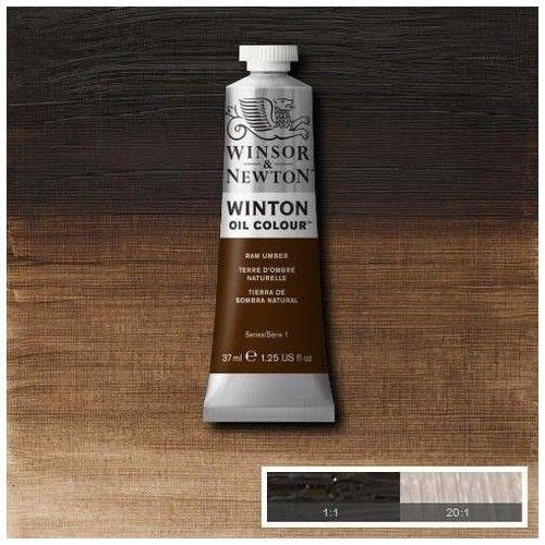 Oleo Winsor & Newton tierra de sombra natural