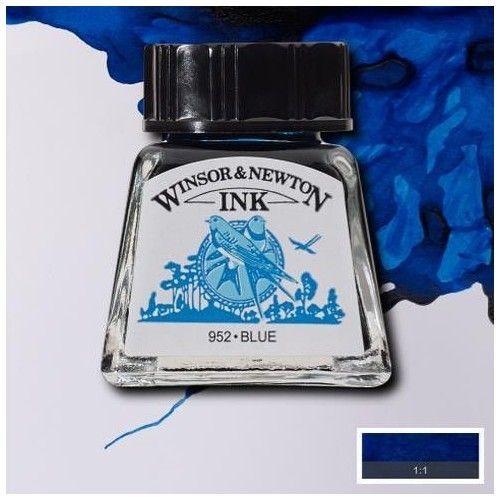 Tinta W&N azul