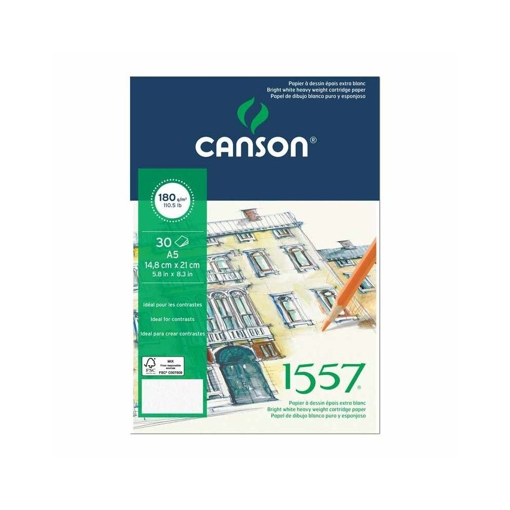Block Canson 1557 A4