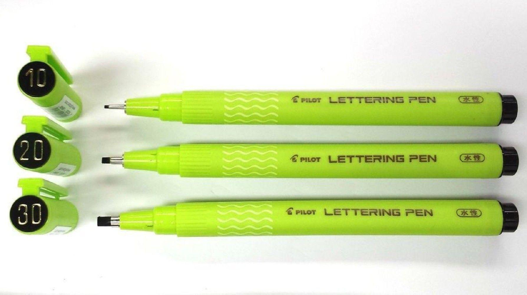 Marcador Pilot Lettering Pen 10
