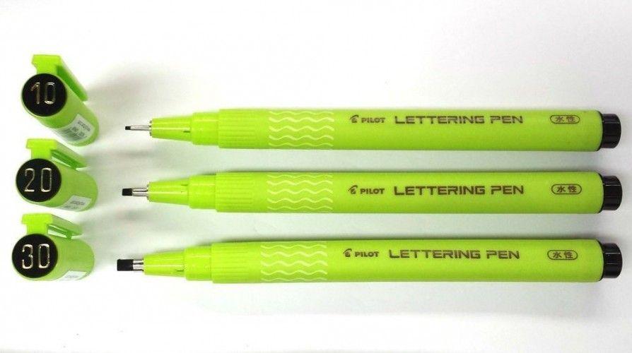 Marcador Pilot Lettering Pen 30