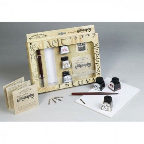 SET TINTAS W&N CALLIGRAPHY THE COMPLETE