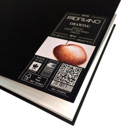 Drawing Book Fabriano A4 160 grs