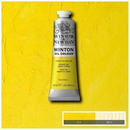 Oleo Winsor & Newton tono amarillo limón