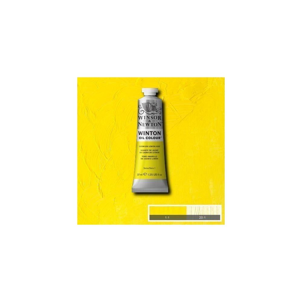 Oleo Winsor & Newton amarillo de cadmio limón