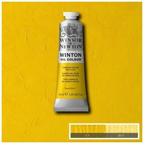 Oleo Winsor & Newton amarillo cadmio pálido