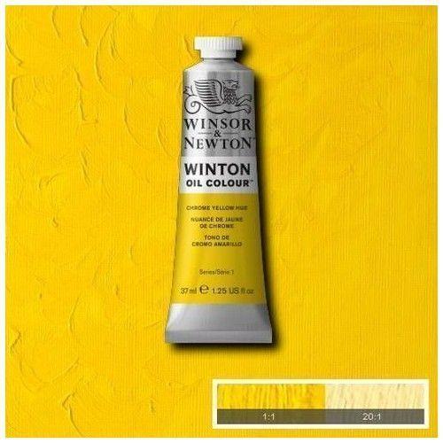Oleo Winsor & Newton amarillo cromo