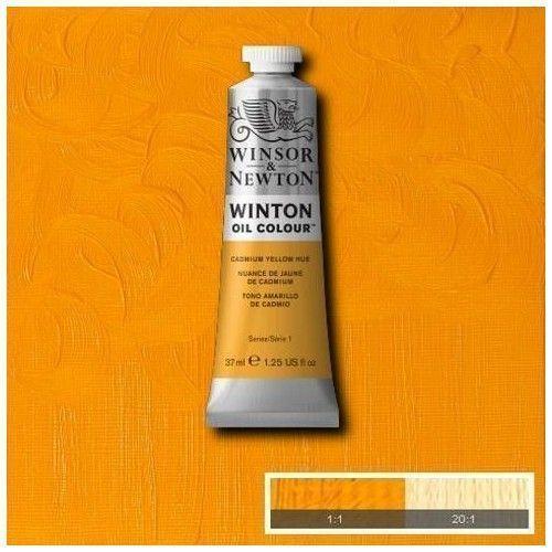 Oleo Winsor & Newton amarillo de cadmio