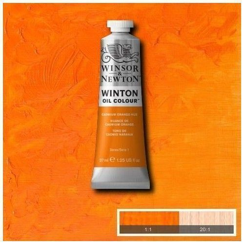 Oleo Winsor & Newton naranja de cadmio