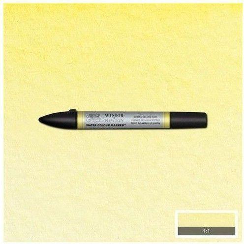 Bruspen de acuarela W&N amarillo limon