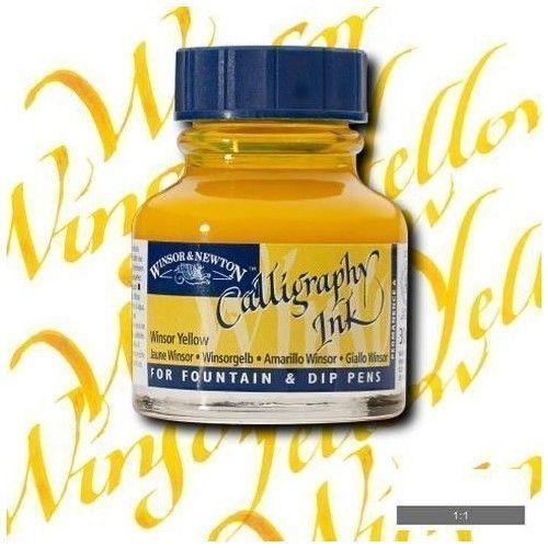 Tinta caligráfica W&N Winsor amarillo