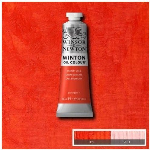Oleo Winsor & Newton laca escarlata