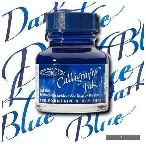 Tinta caligráfica W&N Azul oscuro