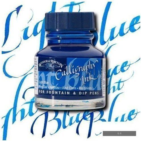 Tinta caligráfica W&N Azul claro