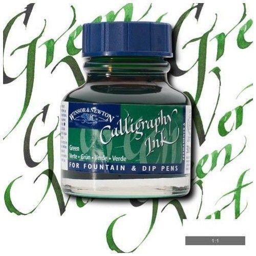 Tinta caligráfica W&N Verde