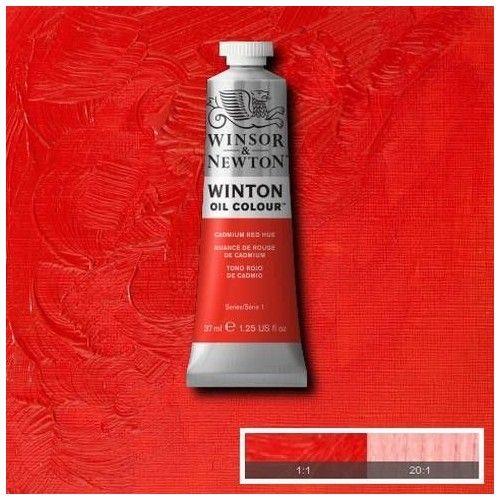Oleo Winsor & Newton rojo de cadmio