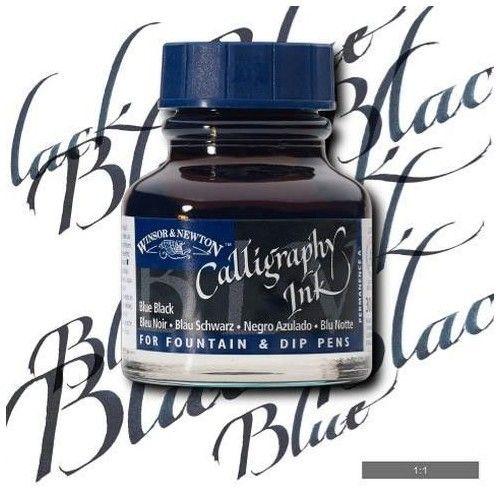 Tinta caligráfica W&N Azul negro