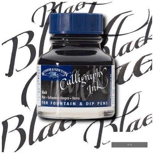 Tinta caligráfica W&N Negro