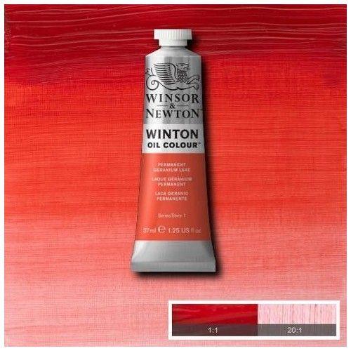 Oleo Winsor & Newton laca geranio permanente