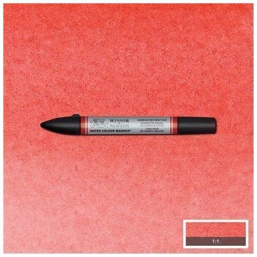 brushpen de acuarela W&N rojo cadmio oscuro