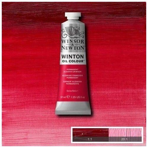 Oleo Winsor & Newton carmesí alizarina permamente