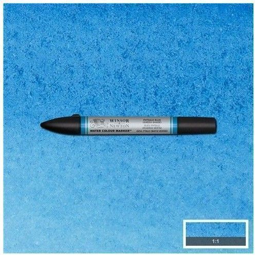 brushpen de acuarela W&N Azul ftalo (sombra verde)