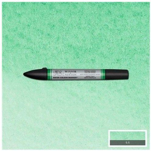 brushpen de acuarela W&N verde ftalo matiz amarilla