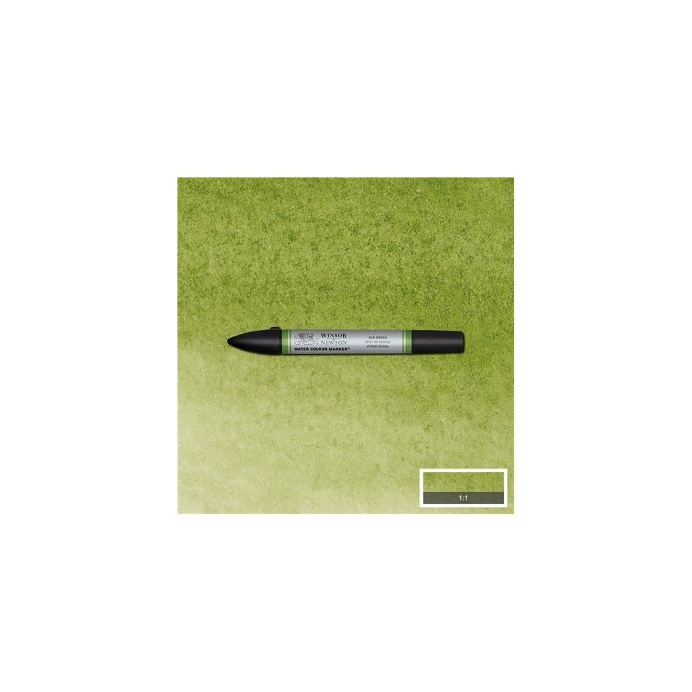brushpen de acuarela W&N verde vejiga