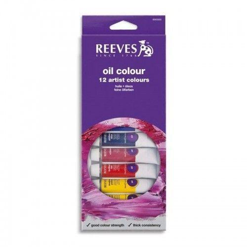 Set Oleos Reeves 12 unidades