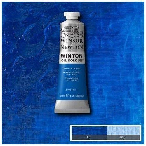 Oleo Winsor & Newton azul de cobalto