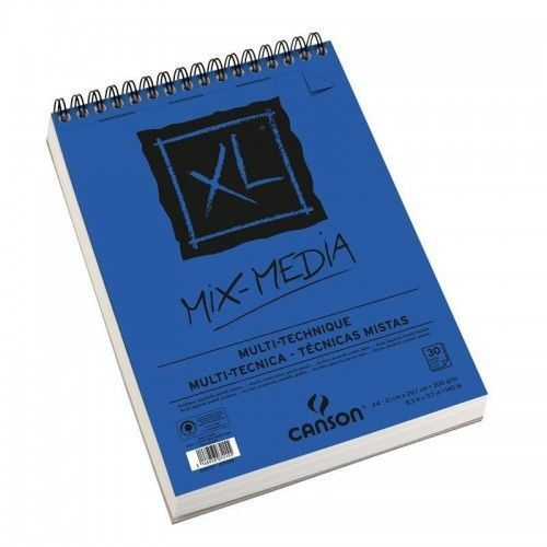Block Canson XL mix media A4