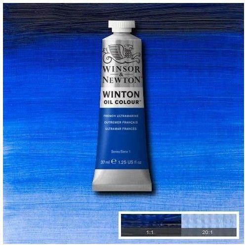 Oleo Winsor & Newton azul ultramarino francés