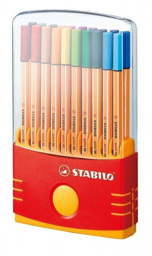 Stabilo Ponit 88 Color Parade 20 unidades