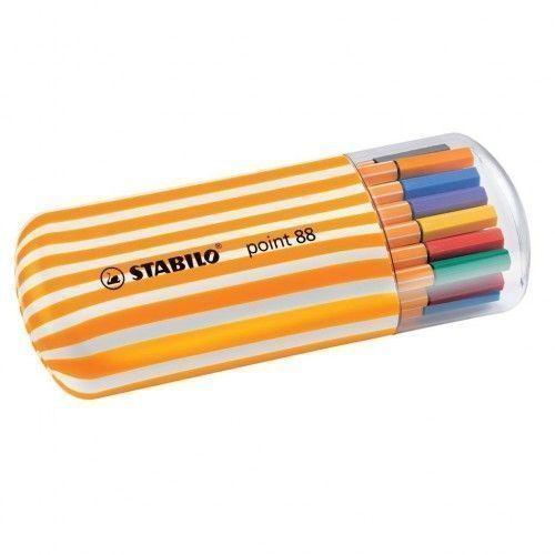 Stabilo Ponit 88 Zebra 15 + 5 Neon