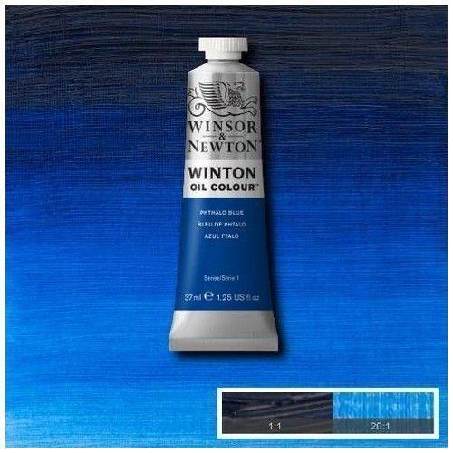 Oleo Winsor & Newton azul Ftalo