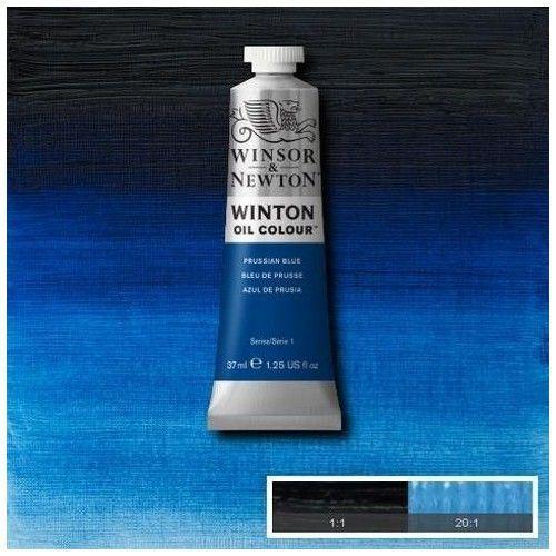 Oleo Winsor & Newton azul de Prusia