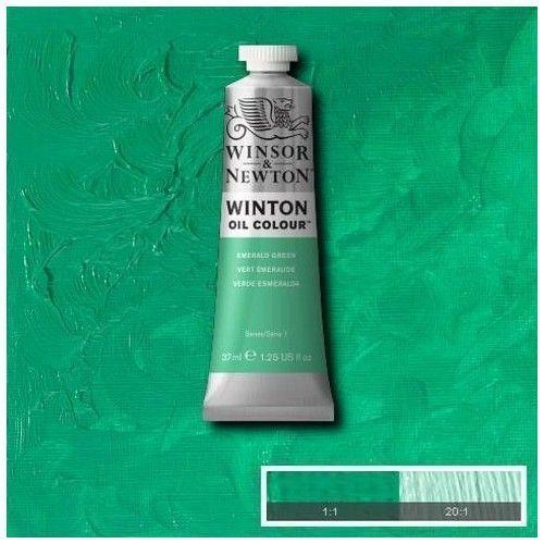 Oleo Winsor & Newton verde esmeralda