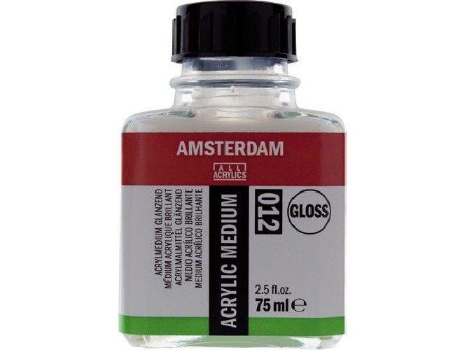 medio para acrílico brillante 012 - 75 ml