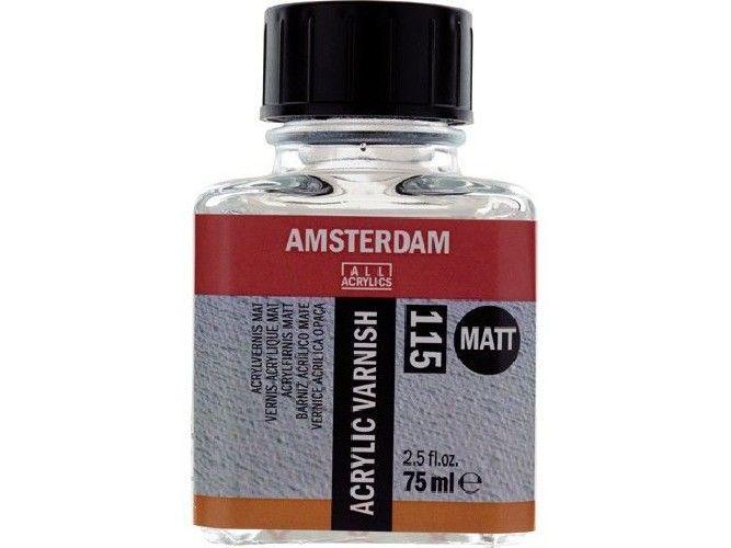 barniz acrílico mate 115 Amsterdam - 75 ml