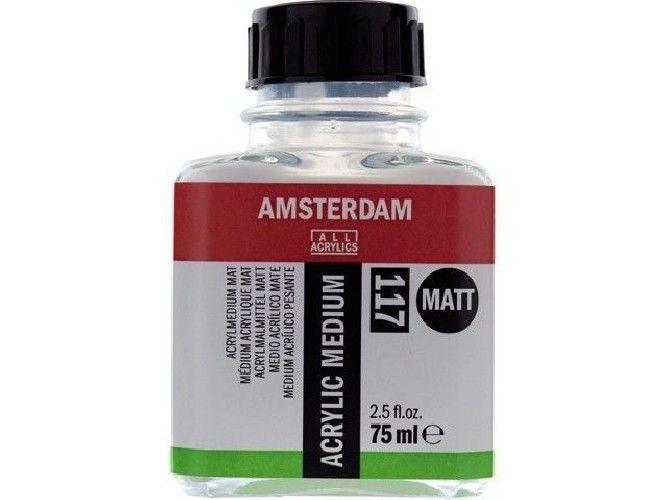 medio para acrílico mate 117 Amsterdam - 75 ml