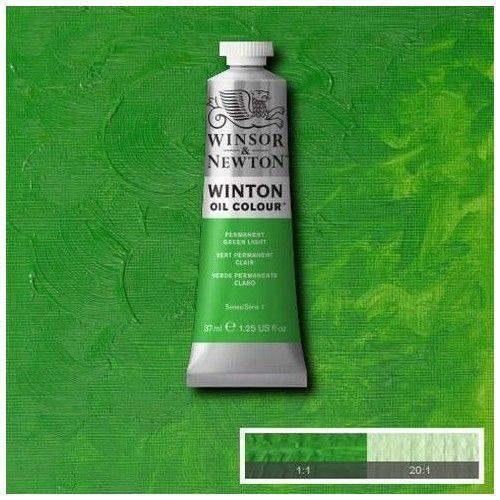 Oleo Winsor & Newton verde claro permanente