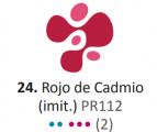 Acrílico Eterna Profesional 700ml Rojo de Cadmio