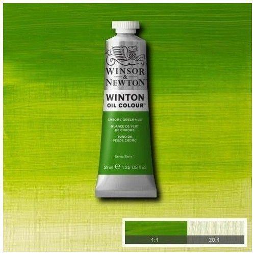 Oleo Winsor & Newton verde de cromo