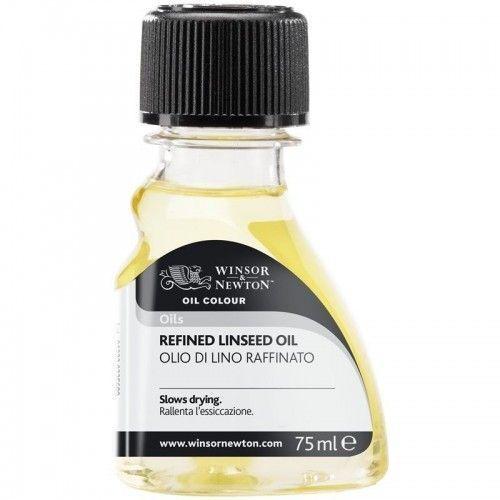 Aceite de lino refinado W&N 75 ml