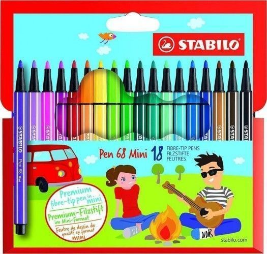 Stabilo Pen 68 18 unidades