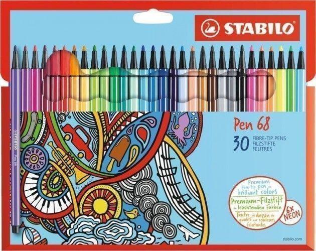 Stabilo Pen 68 30 unidades