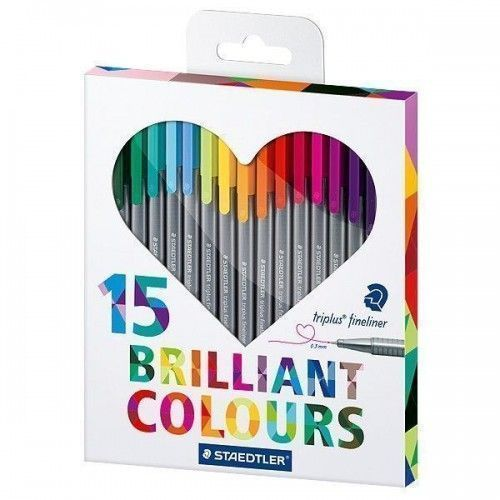 Staedtler Brillants Colours 15 unidades