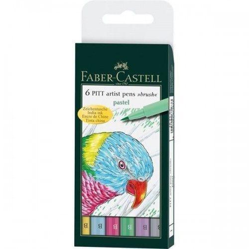 Marcador Pitt Artist Pen B Pastel x6