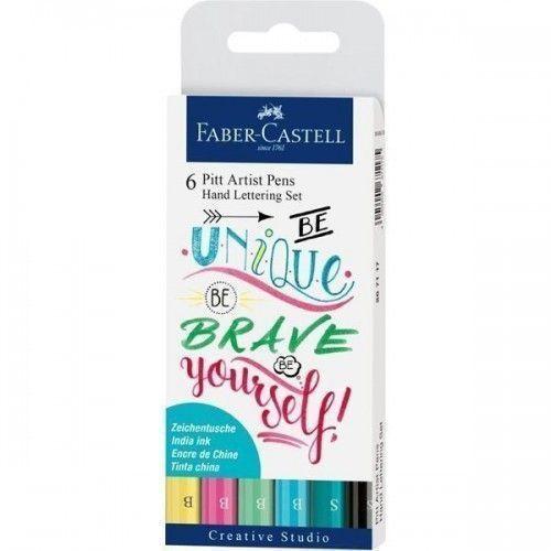 Estuche Hand Lettering 6 Pitt Pastel